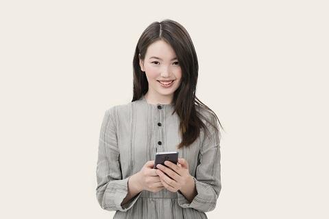 Singaporean using phone